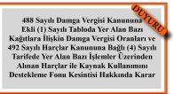 13.03.2017 Tarih ve 2017/9973 Sayılı BKK