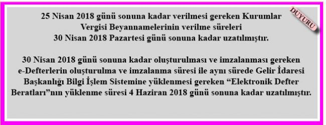 VERGİ USUL KANUNU SİRKÜLERİ/103